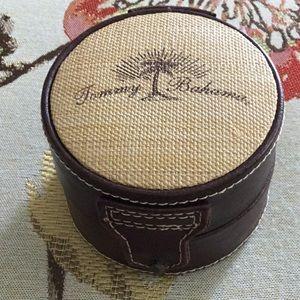 Original Tommy Bahama EMPTY Leather Watch Case